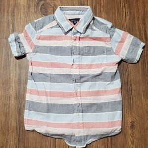 Children's Place Striped Button Down - 3T
